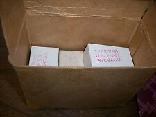 7ea 1n21 Microwave Diodes In Boxes Shelf A