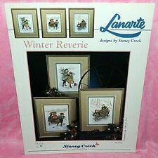Stoney Creek Lanarte Winter Reverie Cross Stitch Chart Book Children