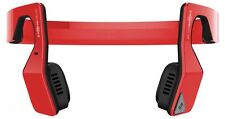 AfterShokz Bluez 2S Open Ear Bone Conduction Bluetooth Wireless Headphone Red