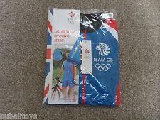 Team GB Ladies Light Blue Cycling Jersey Small 8-10 Rio Olympics 2016 BNWT!