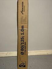 Bosch Worcester 7719003666 125mm 1 Meter Flue Extension - White