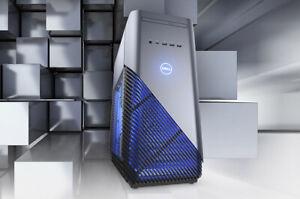 GAMING PC DELL INSPIRON 5680 i7-8700 3.2GHZ 256GB SSD+3TB 16GB GTX750 WIFI W10