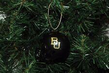 Baylor University Football Helmet Christmas Ornament