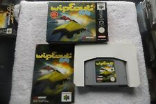 WIPEOUT 64 NINTENDO 64 N64 PAL BOXED FAST POST ( fast paced arcade racing game )