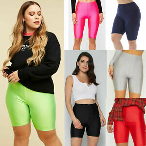 New Women's Active Casual Dancing Gym Festival Summer Nylon Lycra Cycling Shorts