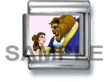 BEAUTY AND THE BEAST 9MM ITALIAN PHOTO CHARM LINK musical music theatre broadway