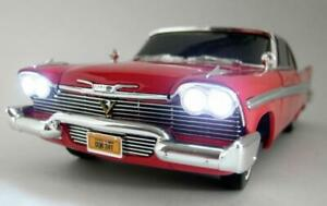 Ertl 1/18 Scale diecast - 33853 1958 Plymouth Fury Christine with Lights