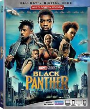 Marvel's Black Panther Blu-ray with slip cover (NO DIGITAL) with Slip Cover