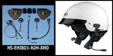 J&MHS-EHI801-HJH-XHO HALF HELMET 801 ELITE SERIES HEADSET
