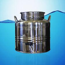 SUPERFUSTINOX STAINLESS STEEL WATER DISPENSER FUSTI 15 LITER 3.96 GAL + GIFT **