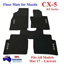 Heavy Duty Rubber Car Floor Mats For Mazda CX5 CX-5 KF Series 2018 2020 Grey