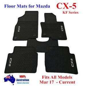 Heavy Duty Rubber Car Floor Mats For Mazda CX5 CX-5 KF Series 2018 2021