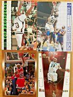 KOBE, SHAQ, JORDAN, LaBRON RC  LOT OF 4 CARDS