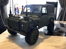 1/10 scale Land Rover Defender, Axial SCX10 Crawler.