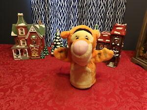 "Cute 9"" Mattel Winnie the Pooh Plush TIGGER Hand PUPPET (*72)"