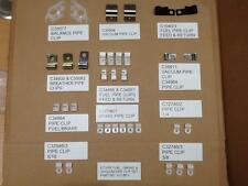 JAGUAR E-TYPE FUEL/BRAKE & VACUUM PIPE CLIP SET V12BFV