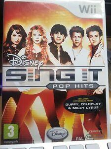 Wii Game Disney Sing It Pop Hits