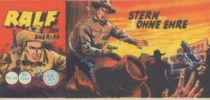 Ralf der Sheriff Nr. 34, Piccolo, Zustand 1, original Lehning