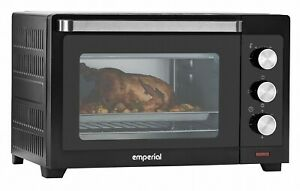 Emperial 30L Mini Convection Oven Electric Toaster Bake Timer 1600W