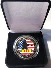 VIETNAM VETERAN Challenge Coin with Presentation Box