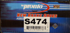 BRAND NEW PRONTO REAR BRAKE SHOES S474 / 474 FITS VEHICLES LISTED ON CHART