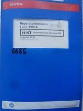 Werkstattbuch Reparaturleitfaden VW Lupo Automatisches Getriebe 001 #6685