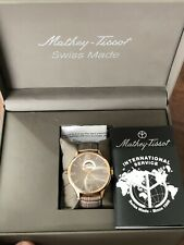 Mathey Tissot Limited Edition Watch Number 26 Of 130 Made. New Never Worn