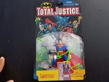 Kenner Total Justice Superman with Kryptonite Ray Emitter Action Figure New