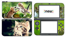 Cat 338 Vinyl Decal Skin Sticker Game for Nintendo New 3DS XL 2015