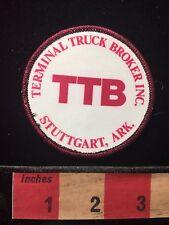TBB Trucker Patch Terminal Truck Broker Inc. Stuttgart Arkansas 674