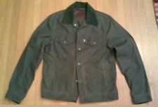 RARE LEVI × FILSON TRUCKER JACKET HAUS L.A. WAXED COTTON OIL FINISH TIN CLOTH XS