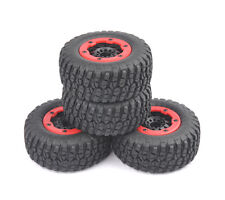4X Short Course Truck Bead-Loc Tire Wheel Rim For HSP 1:10 TRAXXAS Slash Car