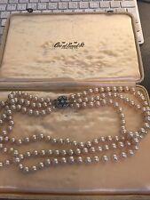 VINTAGE 3 Trefolo Collana di perle CIRO di Bond Street