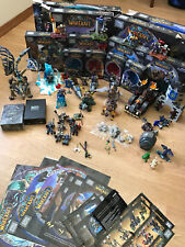 Lot of World of Warcraft MEGA Bloks including Blizzcon Thrall, Jade Chen + more