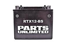 Parts Unlimited AGM Maintenance Free Battery LEMM32H2S