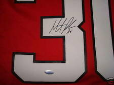 Martin Brodeur NEW JERSEY DEVILS AUTOGRAPH RED REPLICA JERSEY SIGNED STEINER