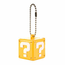 Super Mario 3D World Funyu Squeeze Keychain - Question Block