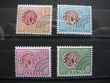 FRANCE neufs  préoblitérés n° 134 à 137  MONNAIE GAULOISE