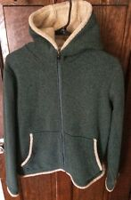 Kuhl Full Zip Hooded Jacket Alfpaca Fleece Womens Sz Large Green