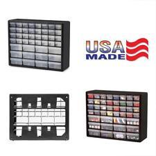 Huge 44-Drawer Hardware Plastic Pars Bin Organizer Storage Desk Rack Cabinet New