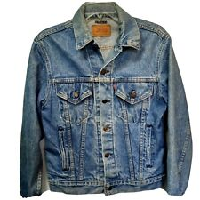 Vintage 80's Levi's Trucker Jacket 70506. Made in Usa. Men's Size 38