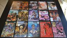 (15) Book Bad Girl Comic LOT w Fathom, Vampirella & Hellwitch Variant Covers NM+