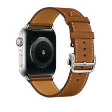 For iWatch Leather Band Strap Herme Style Belt Apple Watch Series 5 4 3 2 1 US