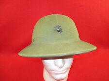 Pre WW2 USMC Tropical JUNGLE Pith Helmet WWII Marine Corps