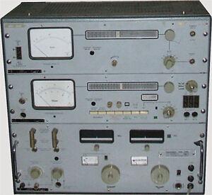 Wandel & Goltermann PSM-5 Pegelmessplatz - 10 kHz - 36 MHz - [zk5]