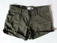 DL1961 FOSTER RELAXED XTWILL SHORT, Green (Fennel), Size 26, MSRP $115