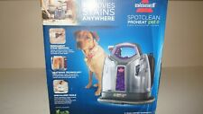 New Bissell 2513W SpotClean ProHeat Pet Portable Carpet Vacuum Cleaner