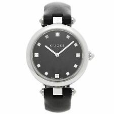 Reloj De Cuarzo Gucci YA141403 para mujer diamantissima Negro