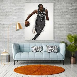 Kevin Durant Poster, Brooklyn Nets Poster Wall Art