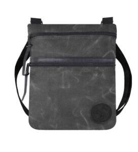 Duluth Pack Waxed Grey Traverse Crossbody Bag NWT